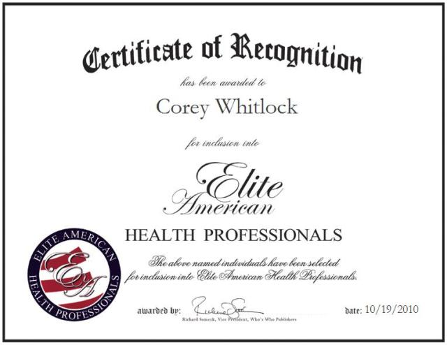 Corey Whitlock